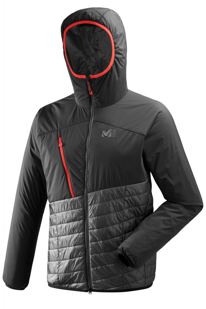 Test doudoune Millet Elevation Airloft hoodie jacket insulated noir black review outdoor alpinisme montagne mountain