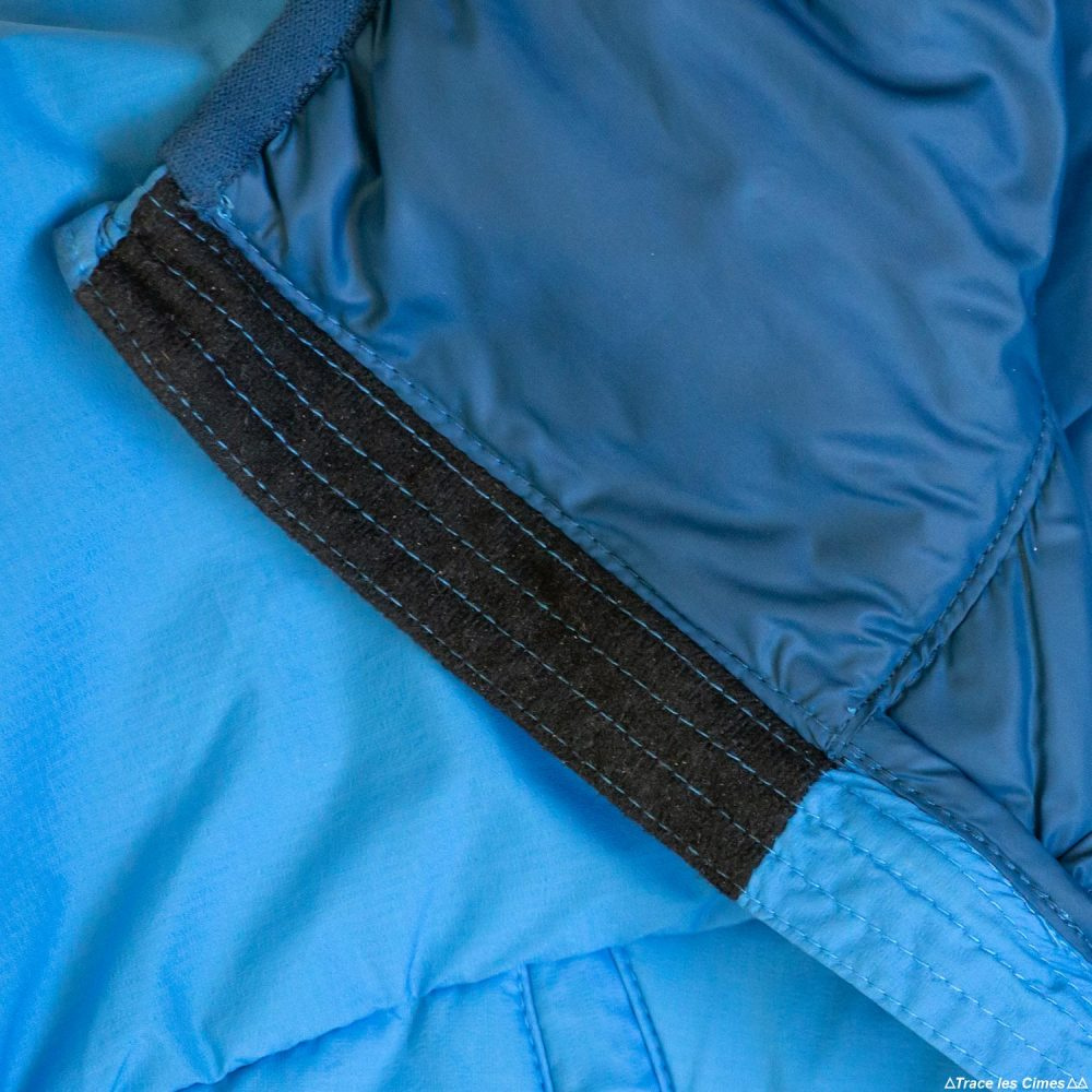 Test doudoune Millet Elevation Airloft hoodie jacket insulated blue / poseidon review outdoor alpinisme montagne mountain