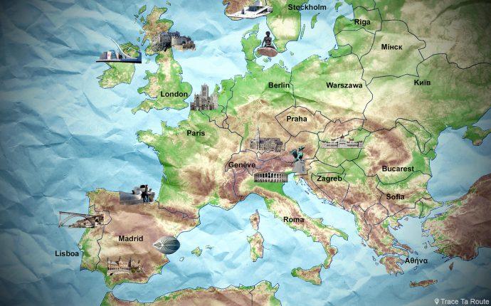 Top 10 Des Villes Européennes Incontournables à Voir En Voyage © Lu0027Oeil Du0027