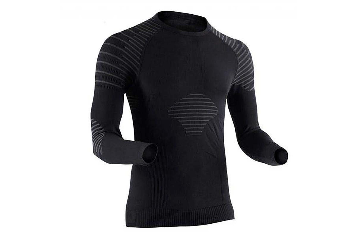 T-shirt manches longues X-Bionic Homme noir