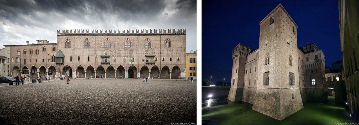 Palais ducal, Mantoue Italie / Palazzo Ducale di Mantova, Italia Italy castle