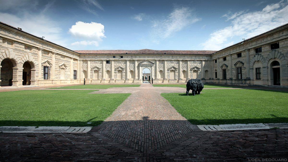 Palais de Te, Mantoue Italie / Palazzo Te, Mantova Italia Italy (Architecture Giulio Romano)