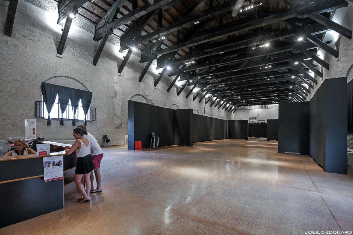Intérieur Palazzo della Ragione, Mantoue Italie / Museo del Tempo, Mantova Italia Italy