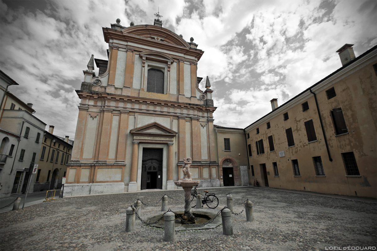 Église Saint-Barnabé, Mantoue Italie / Chiesa di San Barnaba, Mantova Italia Italy church