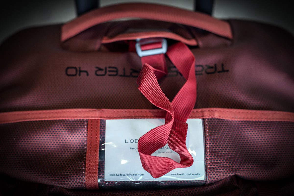 Test sac valise à roulettes Osprey Rolling Transporter 40 review ( rouge / red ) Duffel Travel Bag