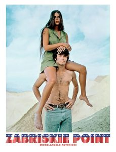 Affiche film : Zabriskie Point (1970) Michelangelo ANTONIONI