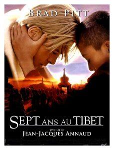Affiche film : 7 ans au Tibet (1997) Jean-Jacques ANNAUD