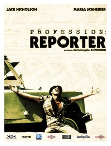 Affiche film : Profession : reporter (1975) Michelangelo ANTONIONI