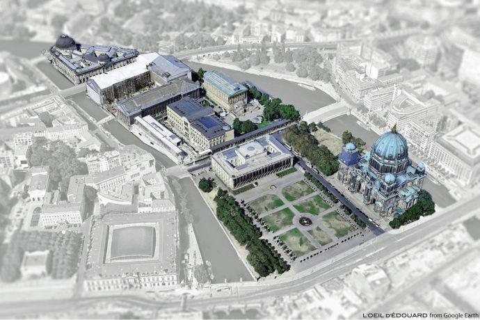 Île aux Musées de Berlin Allemagne / Museum Island Germany / Museumsinsel Deutschland