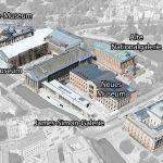 Plan de l'Île aux Musées de Berlin Allemagne / Museum Island map Germany / Museumsinsel Deutschland