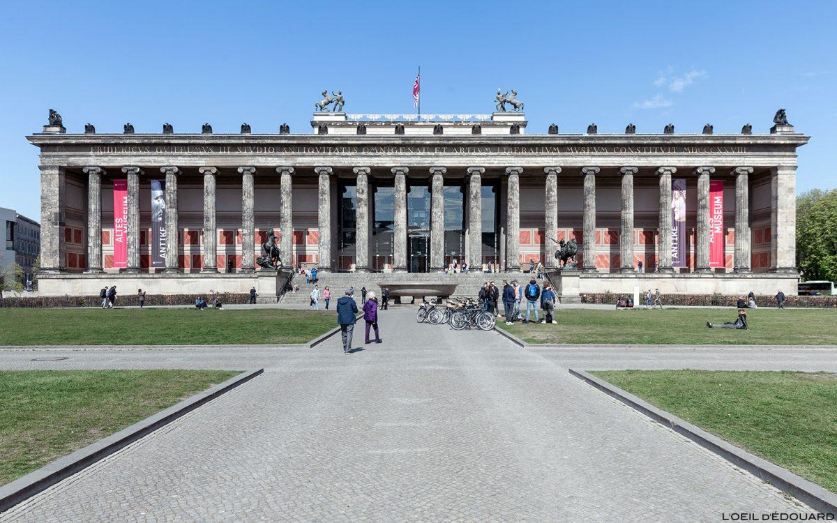 Altes Museum - Île aux Musées de Berlin Allemagne / Museumsinsel Deutschland Germany
