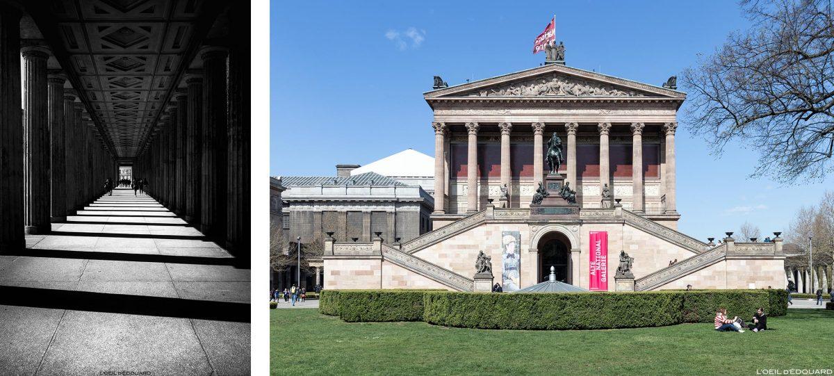 Alte Nationalgalerie - Île aux Musées de Berlin Allemagne / Museumsinsel Deutschland Germany