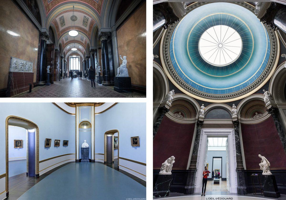 Alte Nationalgalerie - Île aux Musées de Berlin Allemagne / Museumsinsel Deutschland Germany architecture