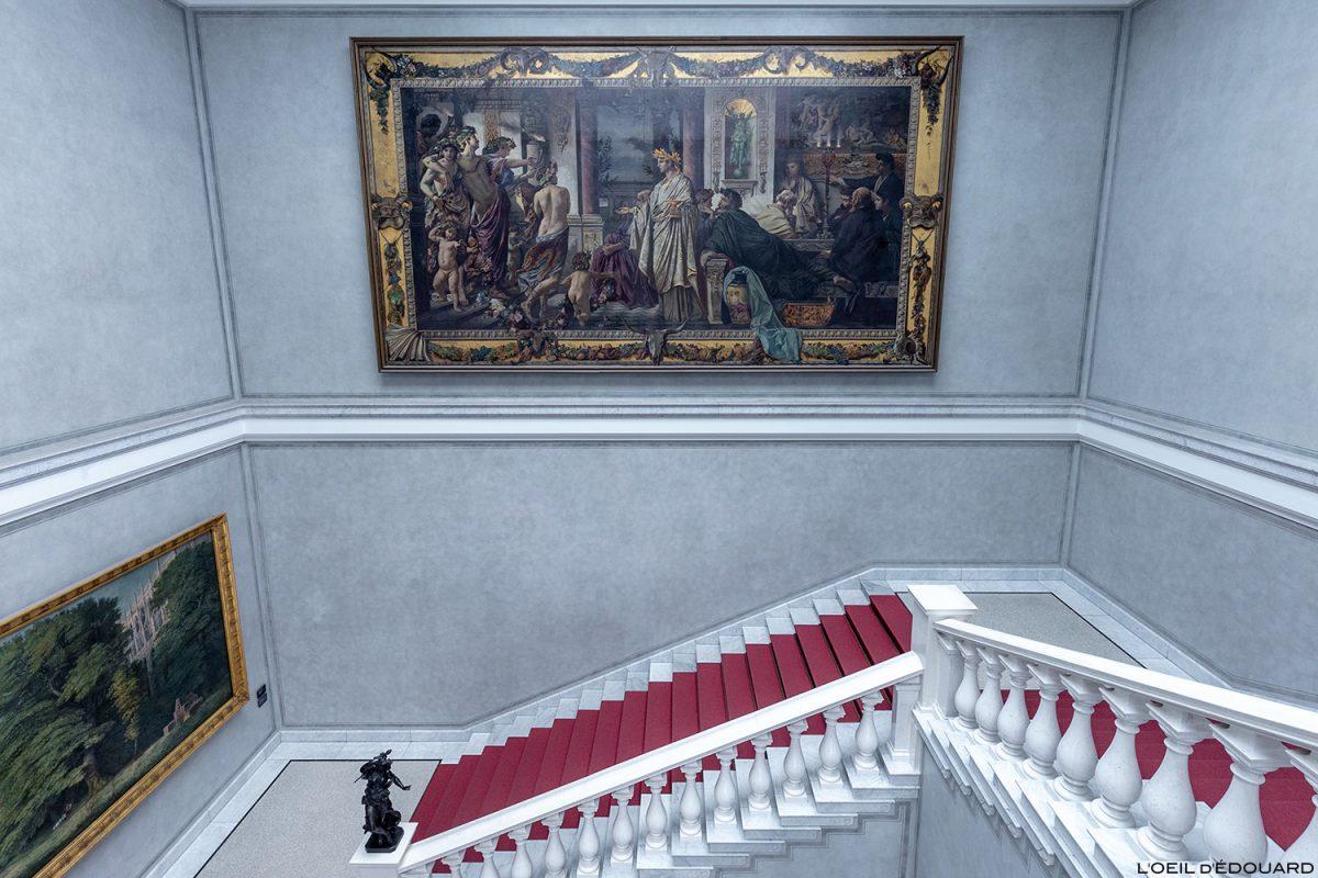 Alte Nationalgalerie, Île aux Musées de Berlin Allemagne / Museumsinsel Deutschland Germany painting