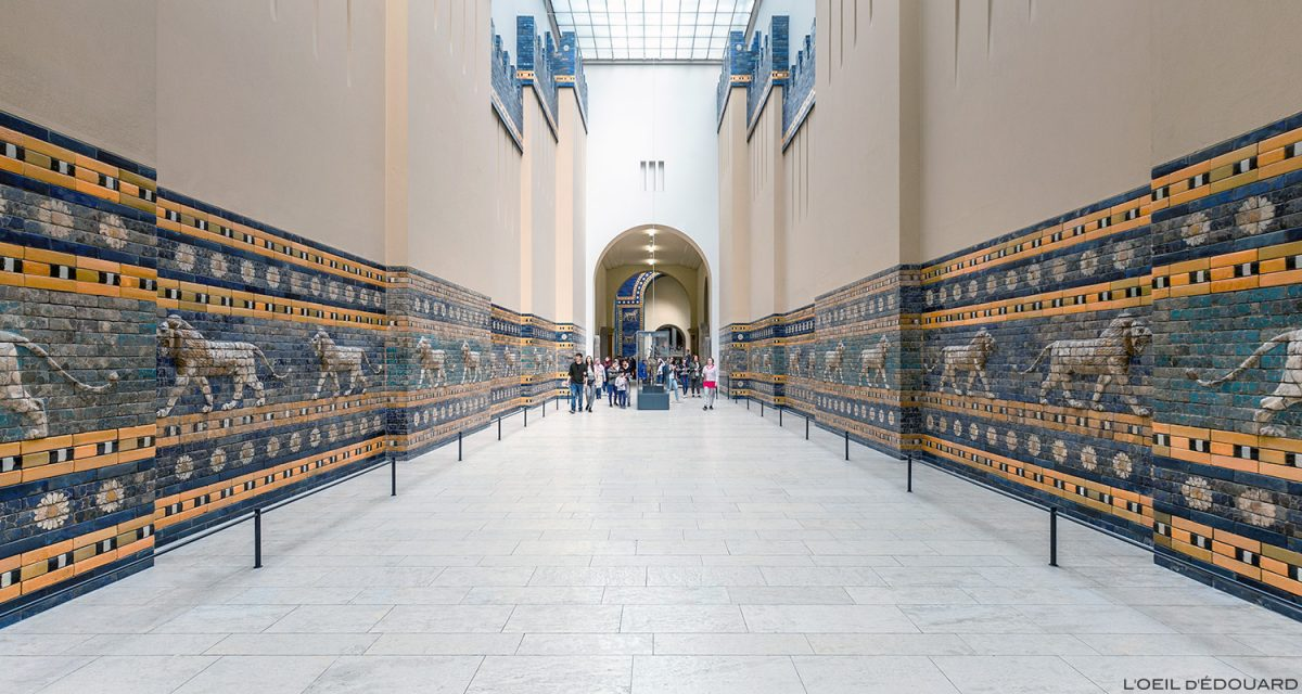 Route de Babylone, Musée de Pergame - Île aux Musées de Berlin Allemagne / Processional Street of Babylon Pergamonmuseum Museumsinsel Deutschland Germany