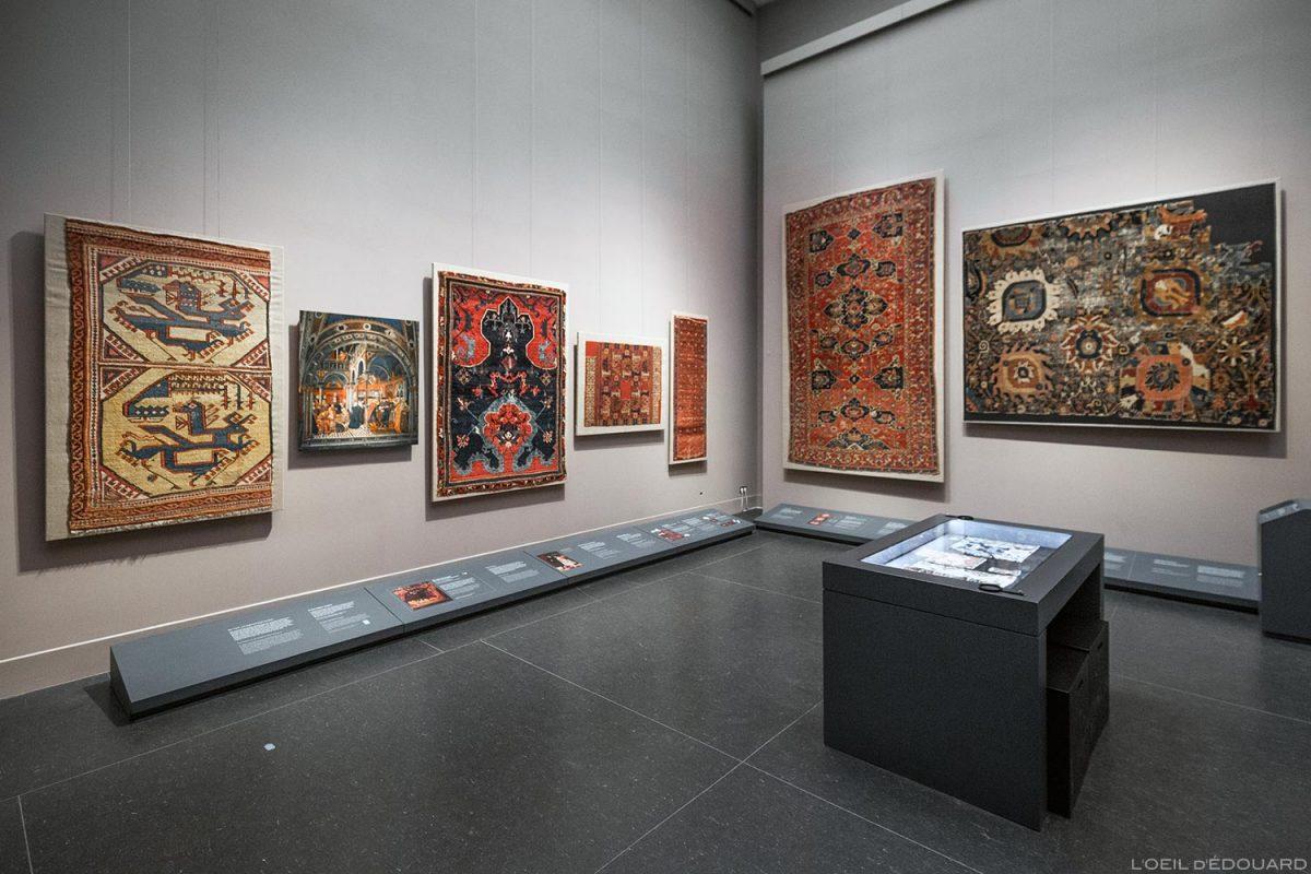 Tapis orientaux, Musée de Pergame - Île aux Musées de Berlin Allemagne / oriental rugs, Pergamonmuseum, Museumsinsel Deutschland Germany