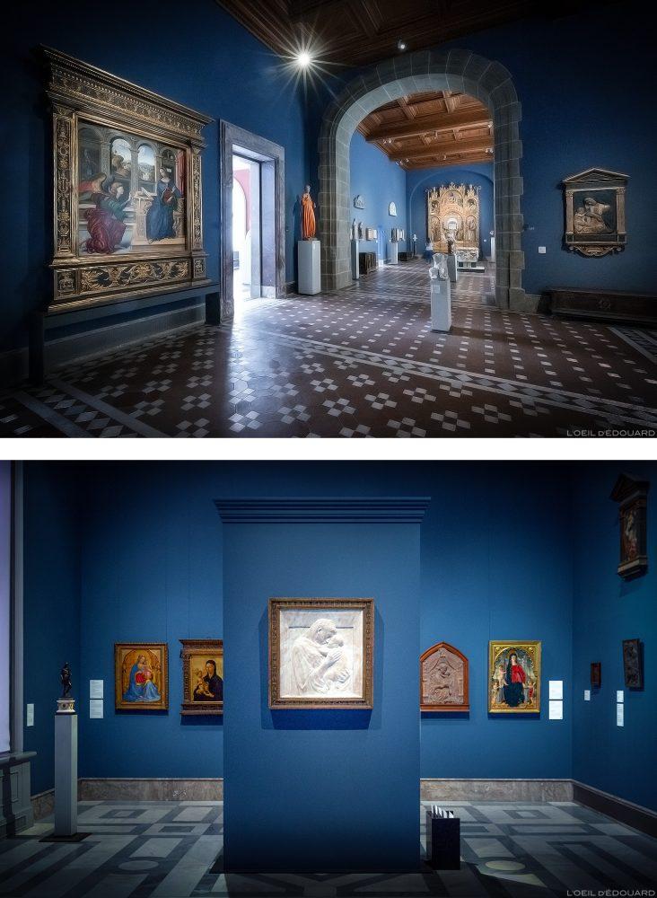 Collection Renaissance Italienne (Donatello, Far Angelico, Masaccio, Uccello) - Musée de Bode Museum, Île aux Musées de Berlin Allemagne / Museumsinsel Deutschland Germany