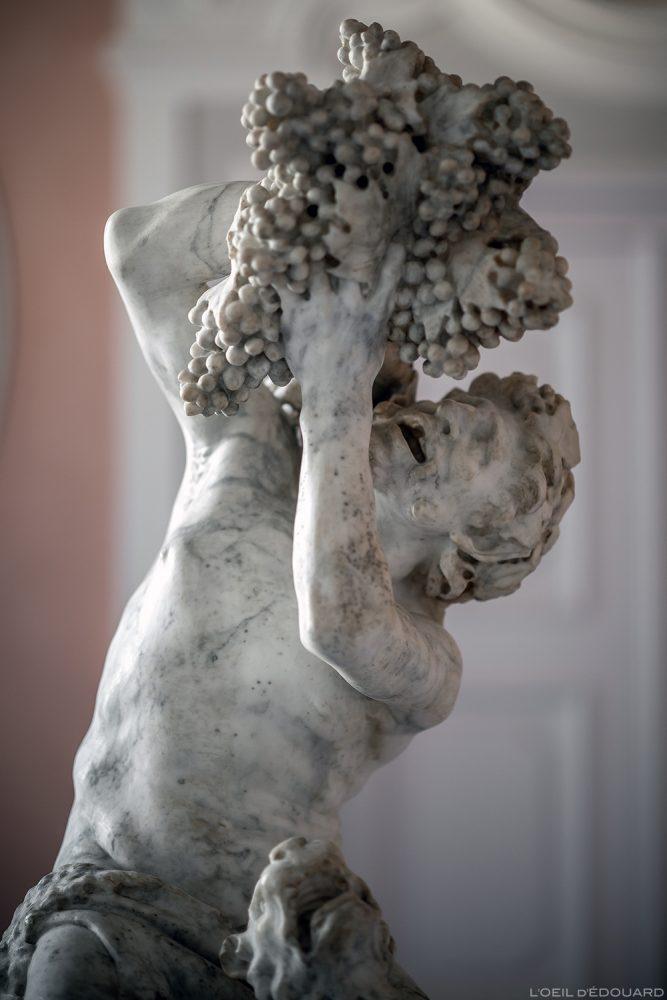 Satyre et une panthère (vers 1615) Le Bernin Pietro Bernini - Musée de Bode, Île aux Musées de Berlin Allemagne / Bode-Museum, Museumsinsel Deutschland Germany sculpture