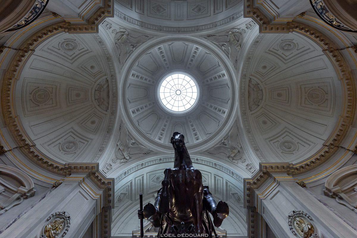 Coupole Palais Musée de Bode Museum, Île aux Musées de Berlin Allemagne / Museumsinsel Deutschland Germany architecture néo-baroque