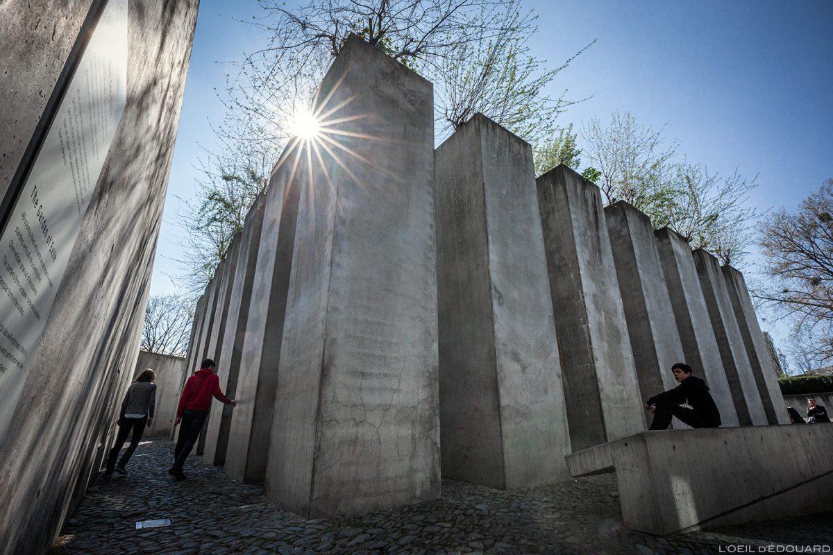 Jardin de l'Exil - Musée Juif de Berlin Allemagne - Exil Garden Jüdisches Museum, Deutschland Germany - Architecture Daniel Libeskind