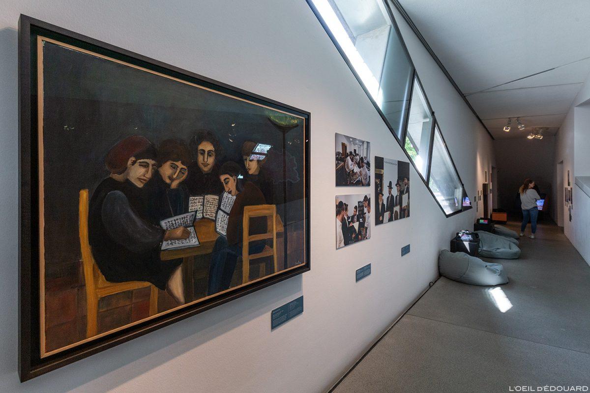 Exposition collection Musée Juif de Berlin Allemagne - Jüdisches Museum Deutschland Germany Jewish Museum Exhibition painting