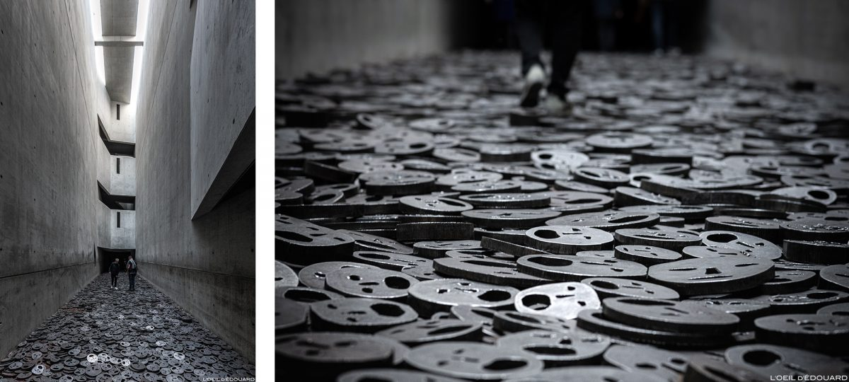 Shalekhet (1997-2001) Menashe Kadishman - Memory void, Architecture Musée Juif de Berlin Allemagne - Jüdisches Museum, Deutschland Germany - Architece Daniel Libeskind