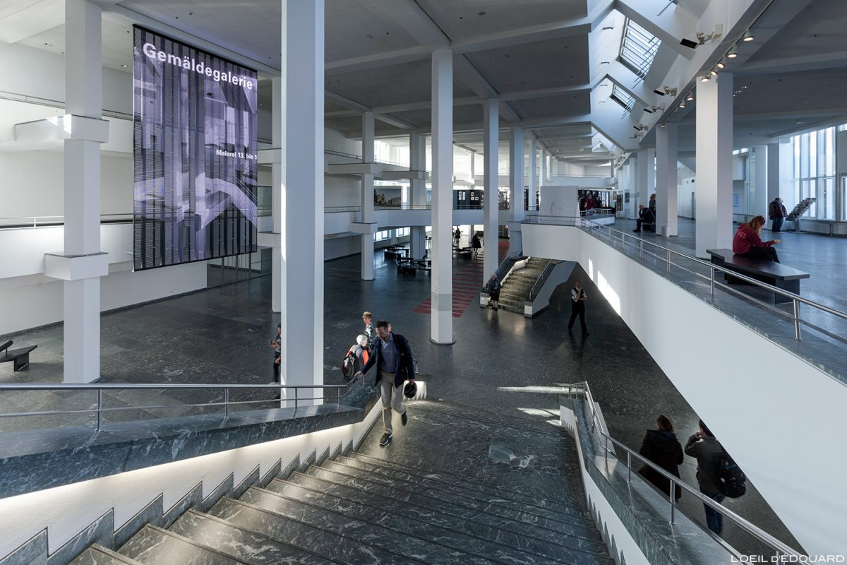 Kulturforum - Musée Gemäldegalerie Berlin Allemagne Deutschland Germany