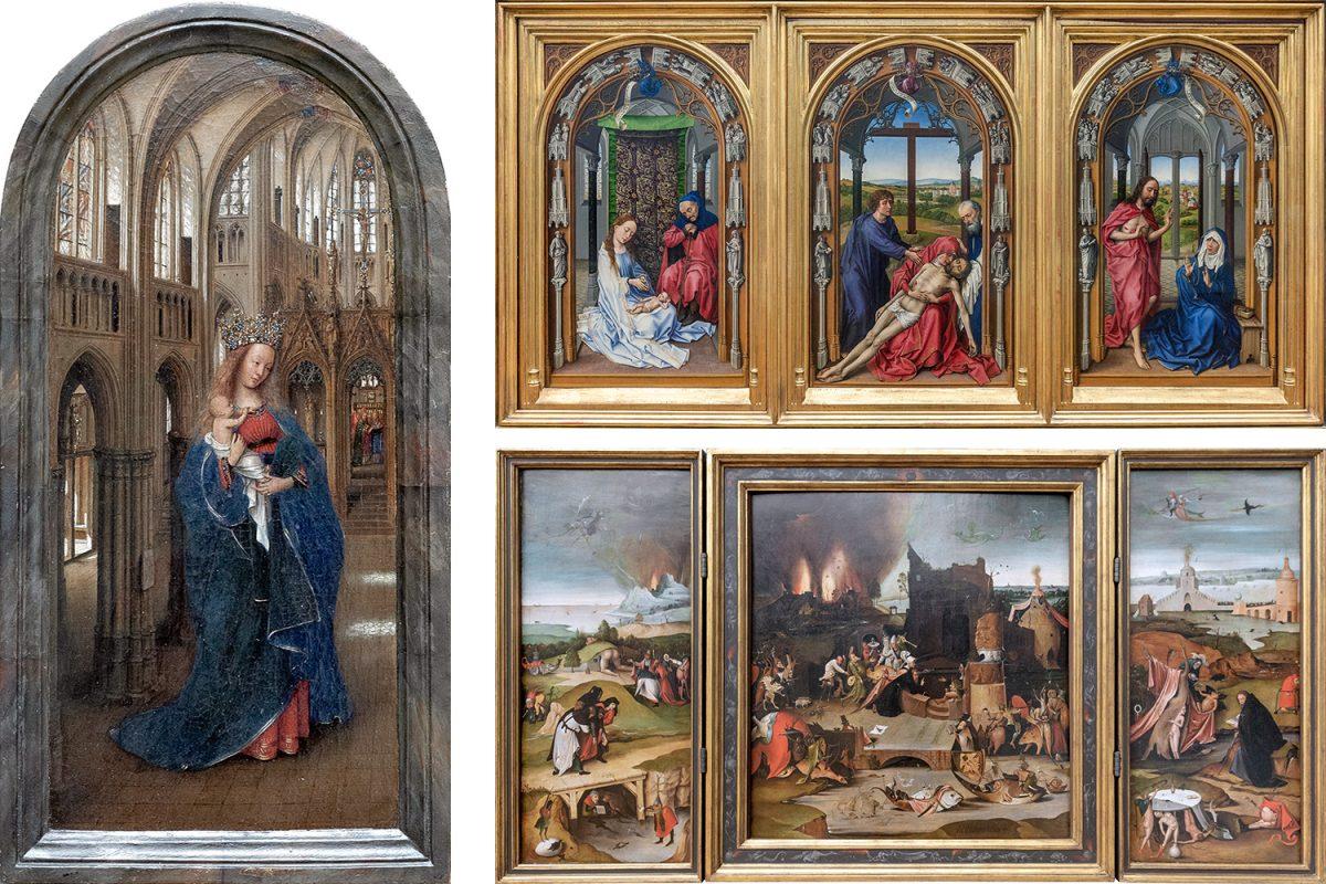 Jan Van Eyck, Rogier Van der Weyden, Hieronymus Bosch - Musée Gemäldegalerie Berlin Allemagne Deutschland Germany