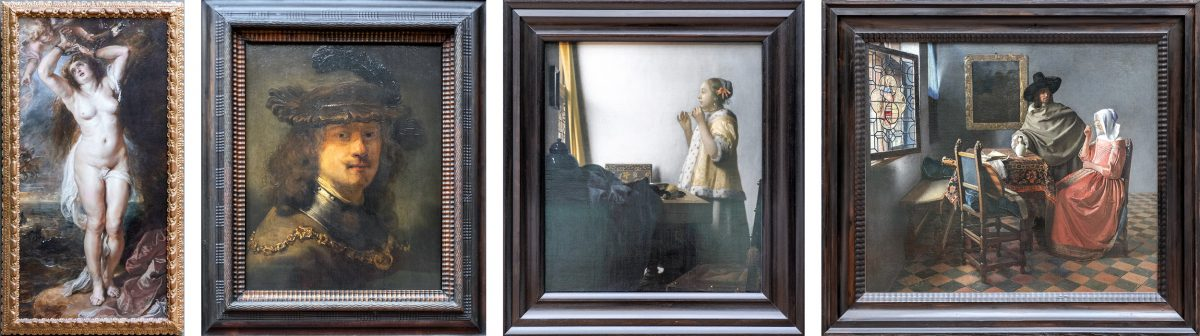 Peter Paul Rubens, Rembrandt, Jan Vermeer - Musée Gemäldegalerie Berlin Allemagne Deutschland Germany