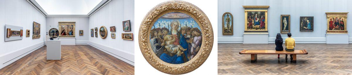 Sandro Botticelli - Musée Gemäldegalerie Berlin Allemagne Deutschland Germany