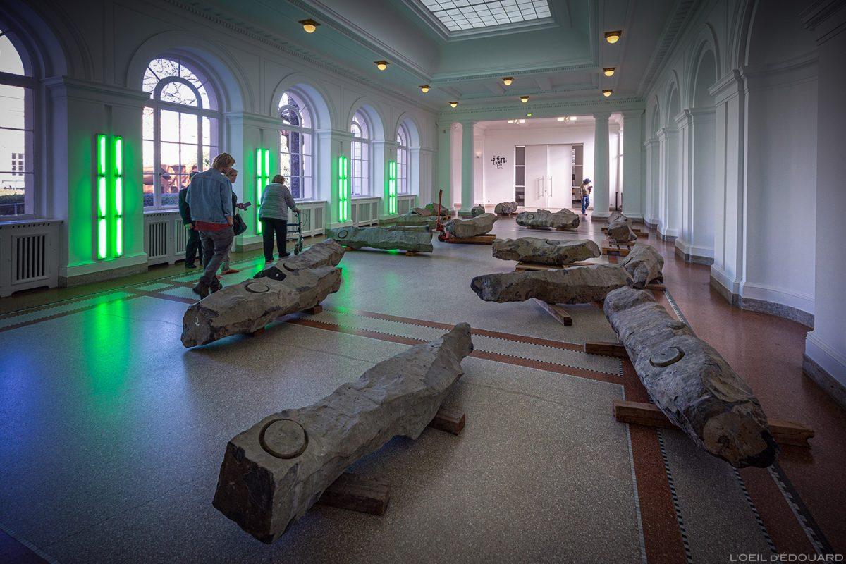 Das ende des 20 jahrhunderts (1982/1983) Joseph Beuys - Musée d'Art Contemporain de Berlin Hamburger Bahnhof - Allemagne Deutschland Germany
