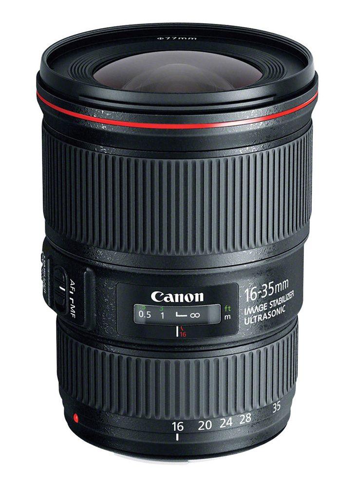 Objectif appareil photo reflex Canon EF 16-35mm f4 L IS USM