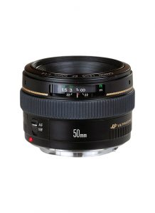 Objectif appareil photo reflex Canon EF 50mm f1.4 USM