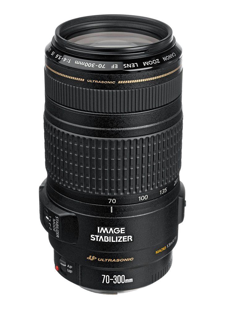 Objectif appareil photo reflex Canon EF 70-300mm f4 IS USM