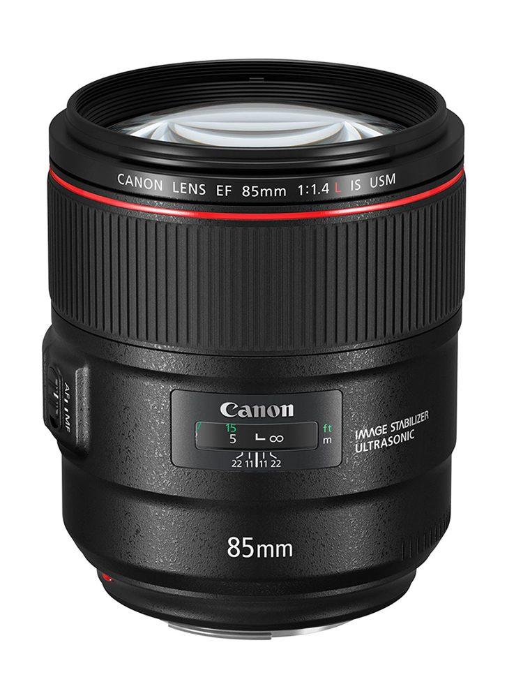 Objectif appareil photo reflex Canon EF 85mm f1.4 L IS USM