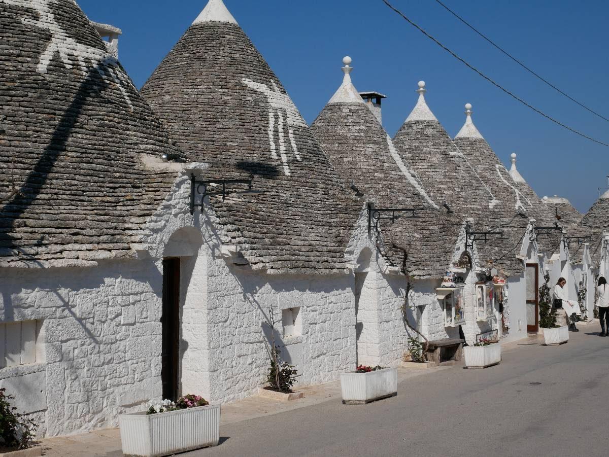 visite des Trulli d'Alberobello, Sud de l'Italie