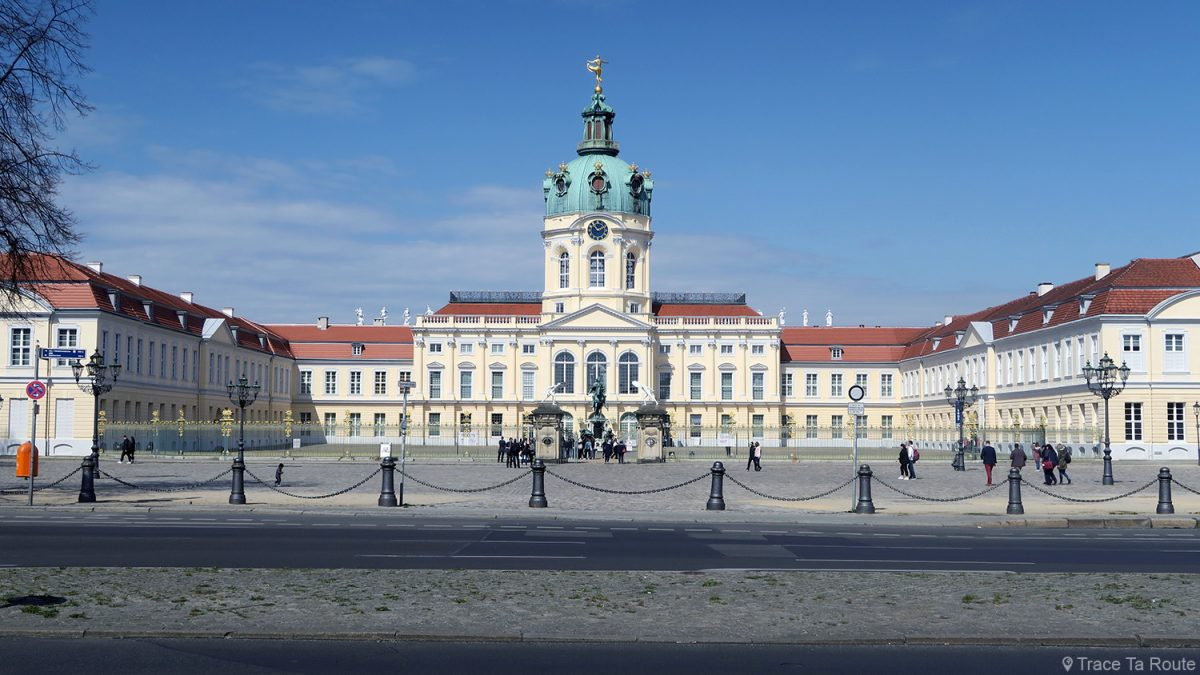 Château de Charlottenbourg Berlin Allemagne / Schloss Charlottenburg Deutschland / Charlottenburg Palace Germany