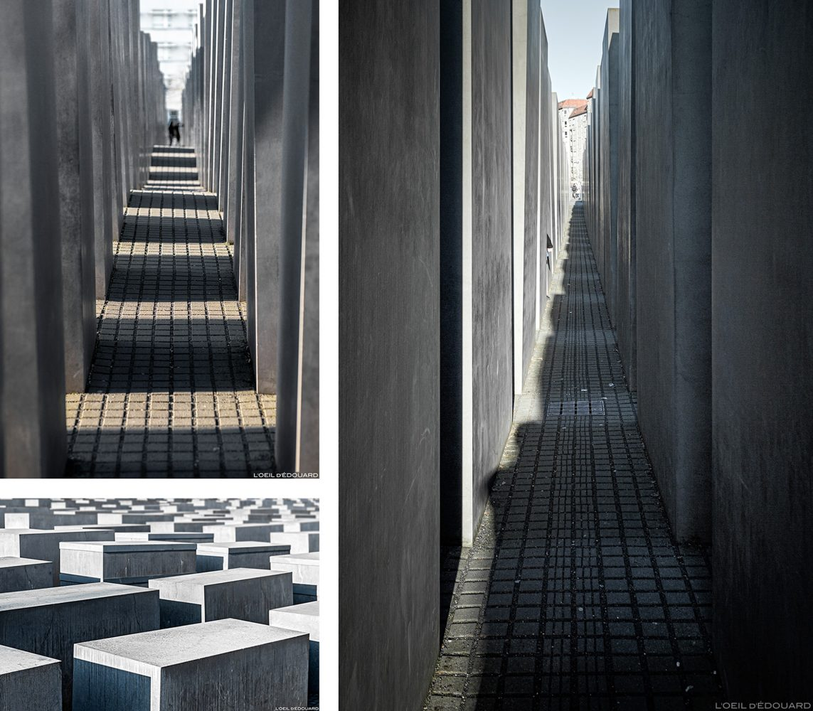 Mémorial aux Juifs assassinés d'Europe à Berlin Allemagne, Mémorial de l'Holocauste / Memorial to the Murdered Jews of Europe Germany / Denkmal für die ermordeten Juden Europas Deutschland Holocaust-Mahnmal