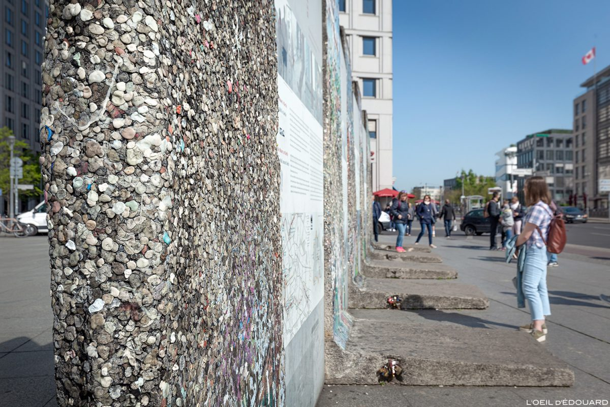 Mur de Berlin, Potsdamer Platz Allemagne / Wall of Berlin Germany / Berliner Mauer Deutschland