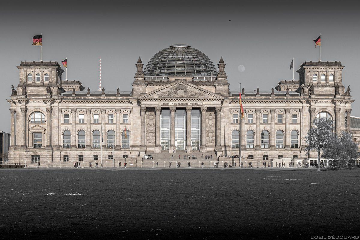 Palais du Reichstag Berlin Allemagne / Deutschland Germany architecture