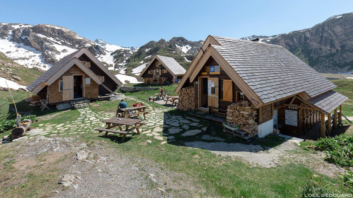 Le Refuge du Fond des Fours, Massif de la Vanoise, Montagne Alpes Mountain