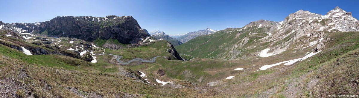 Le Plan des Fours, Massif de la Vanoise, Paysage Montagne Alpes Mountain Landscape