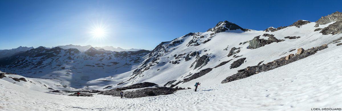 La Pointe de Méan Martin randonnée glaciaire alpinisme, Massif de la Vanoise - Paysage Montagne Alpes Mountain Landscape mountaineering