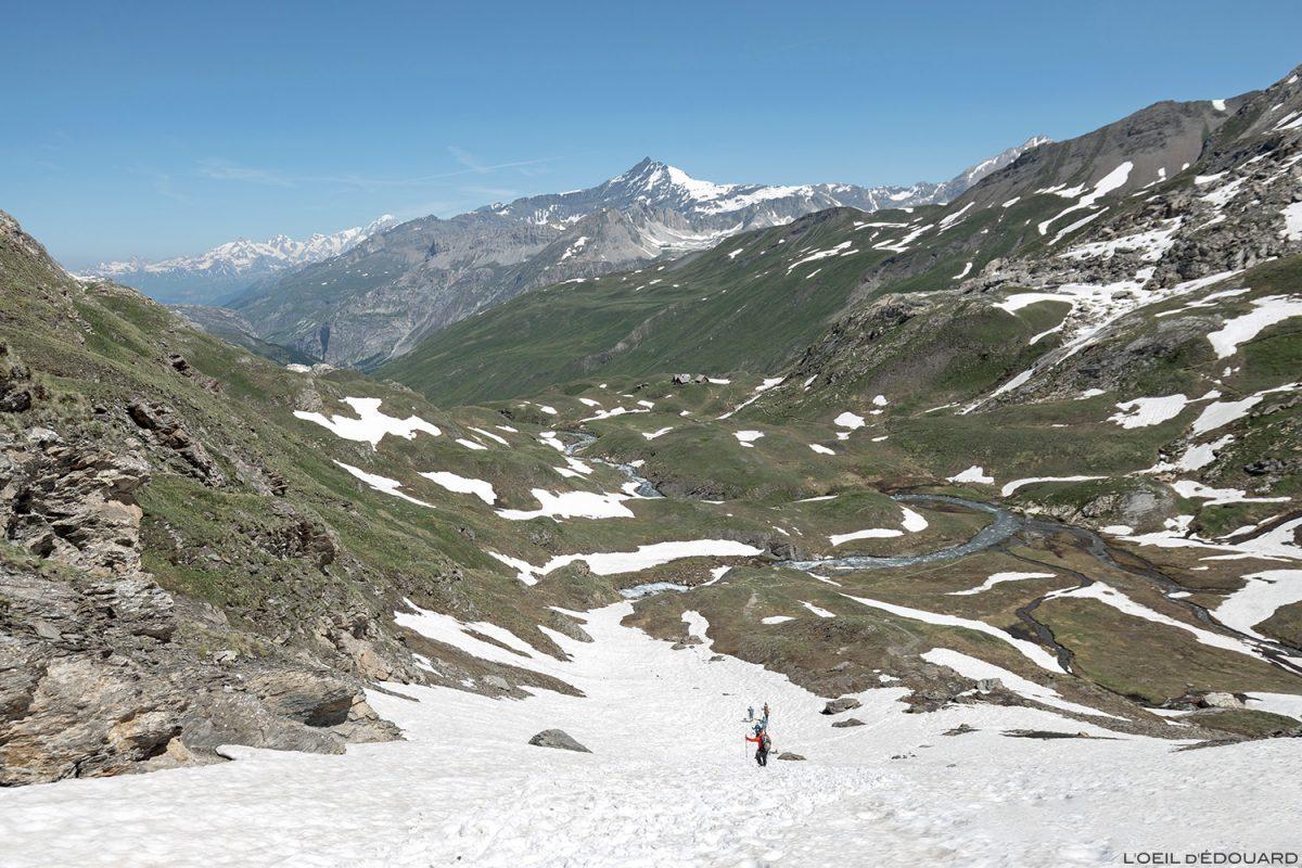 Le Vallon des Fours, Massif de la Vanoise - Paysage Montagne Alpes Mountain Landscape