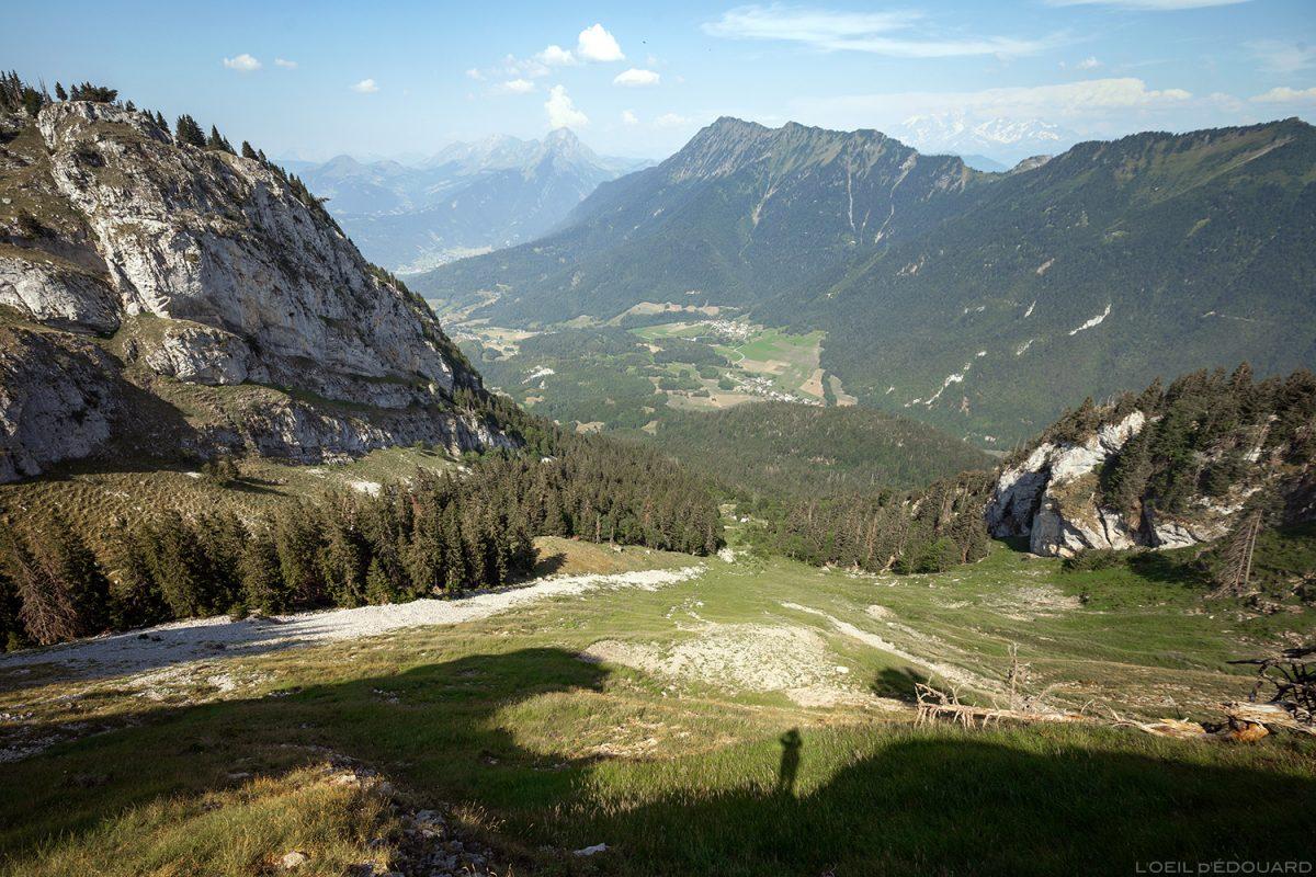 La Combe de La Sambuy, Haute-Savoie Alpes - Paysage Montagne Alpes Outdoor Mountain Landscape Hike Hiking