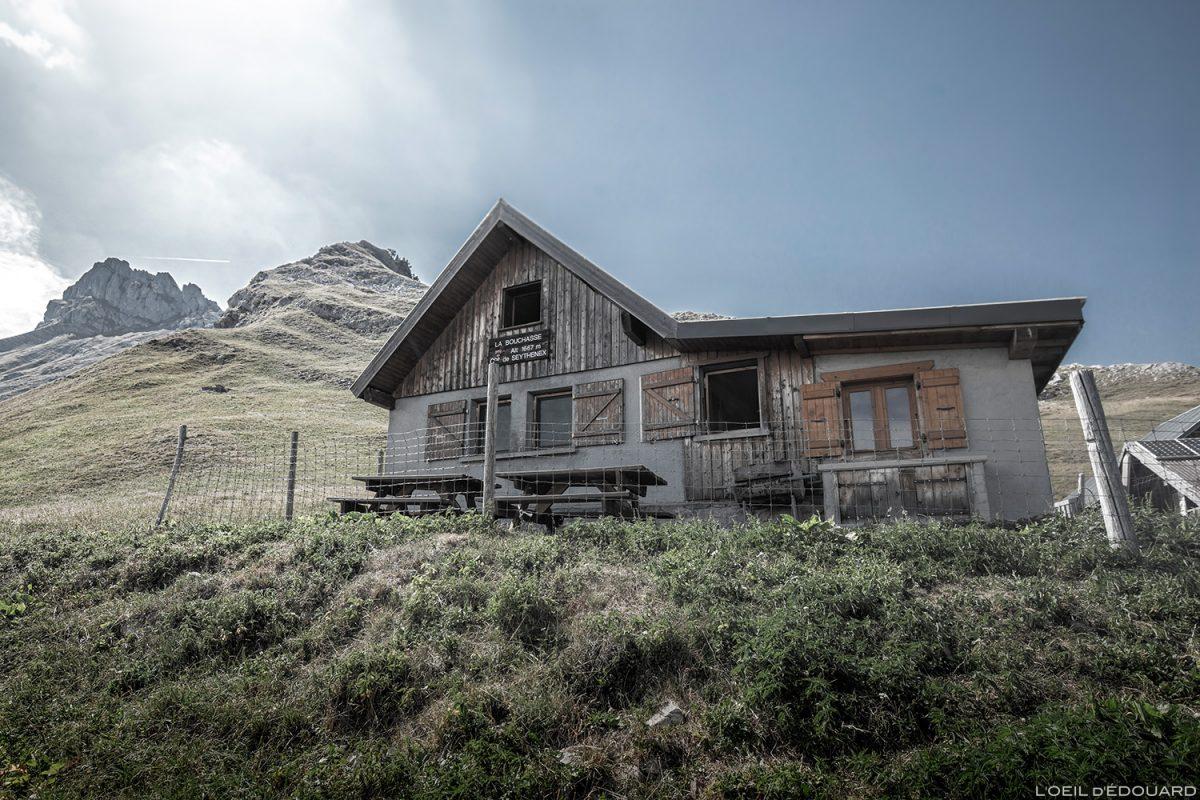 Le Chalet de la Bouchasse et la Pointe de La Sambuy, Haute-Savoie Alpes - Paysage Montagne Alpes Outdoor Mountain Landscape Hike Hiking