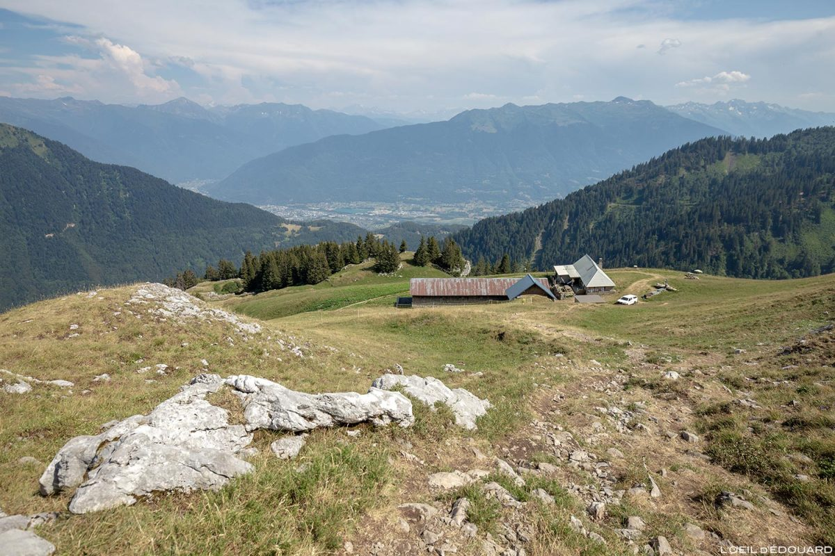 Le Chalet de la Bouchasse, La Sambuy, Haute-Savoie Alpes - Paysage Montagne Alpes Outdoor Mountain Landscape Hike Hiking