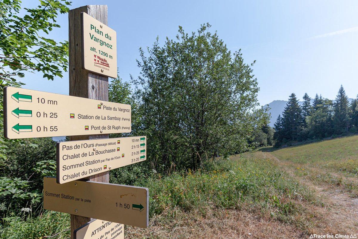 Plan de Vargnoz Itinéraire randonnée Seythenex La Sambuy Haute-Savoie Alpes - Paysage Montagne Alpes Outdoor Mountain Landscape Hike Hiking