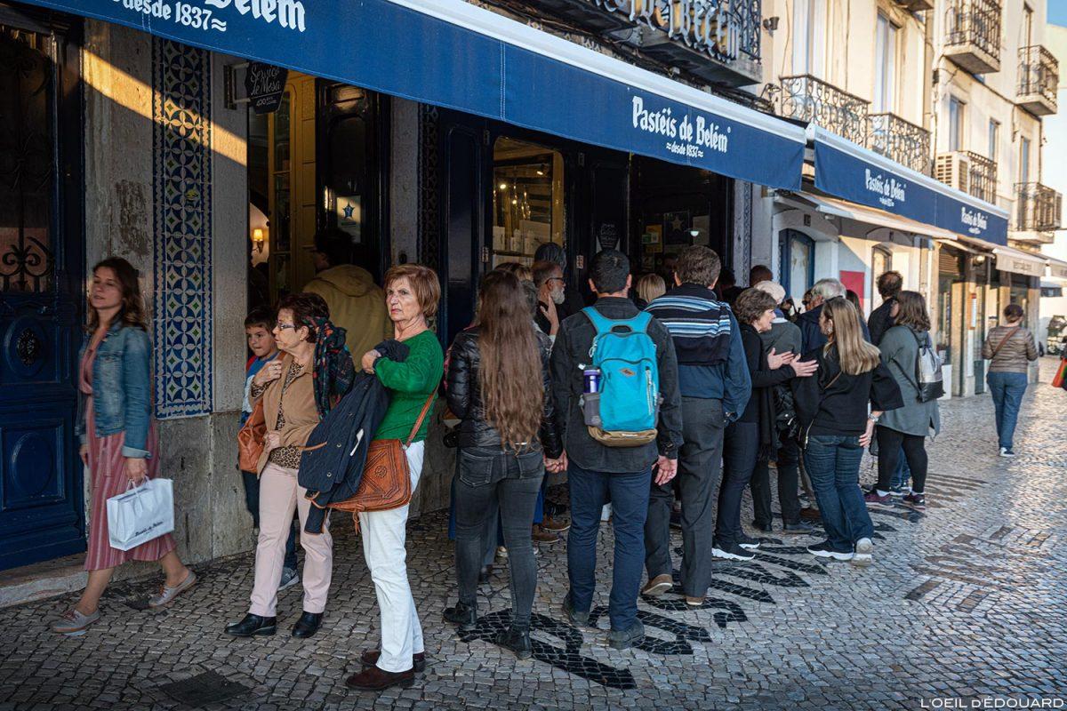 Pastel de Nata, Pastéis de Belém, Lisbonne Portugal Lisboa food