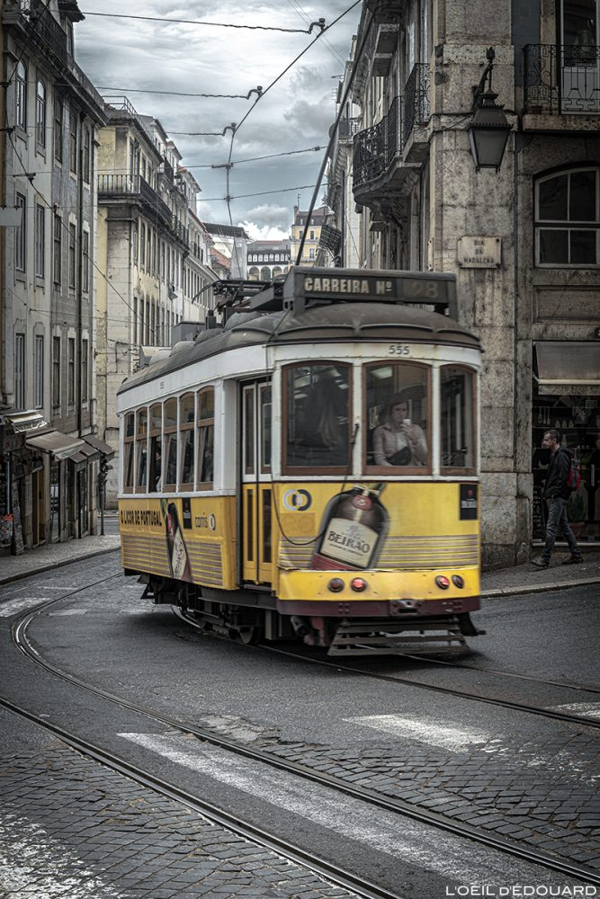 Tram n°28 Lisbonne Portugal Lisboa